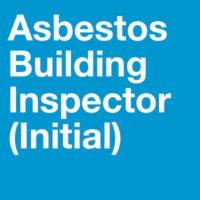 Asbestos Building Inspector (initial) Training