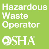 Hazardous Waste Operator OSHA/EOHS Training
